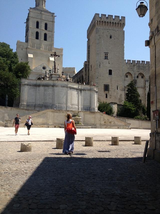 Castelul Papilor în Avignon