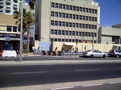 29 Ambasada SUA, vedere din spate