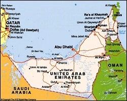 16 Emirate Harta