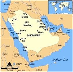 3 Arabia Saudita harta